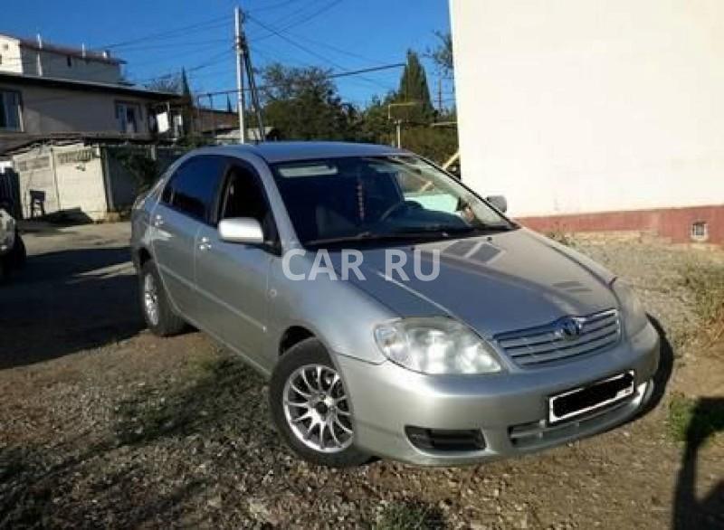 Toyota Corolla, Алушта