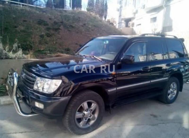 Toyota Land Cruiser, Алушта