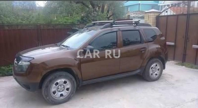 Renault Duster, Анапа