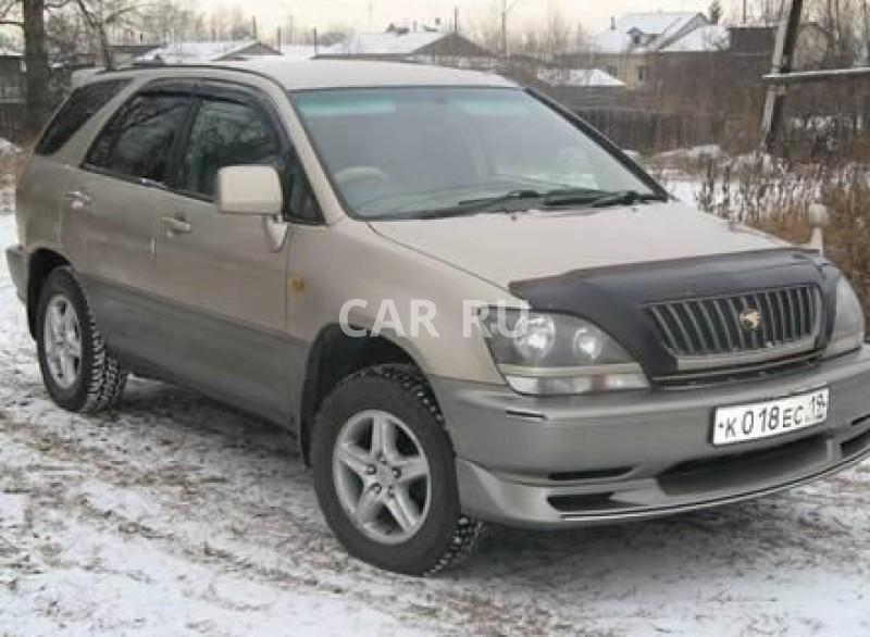 Toyota Harrier, Абакан