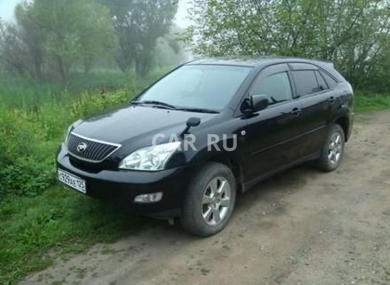 Toyota Harrier, Арсеньев