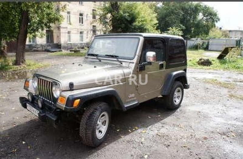 Jeep Wrangler, Барнаул