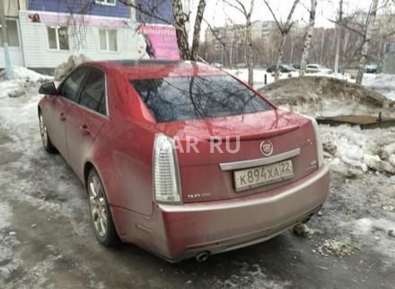 Cadillac CTS, Барнаул