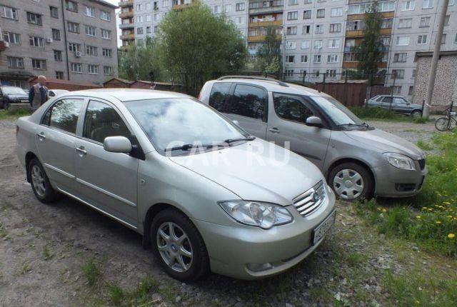 Byd F3, Архангельск