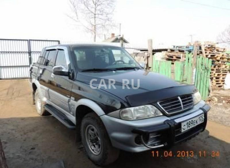 Ssang Yong Musso Sports, Артём