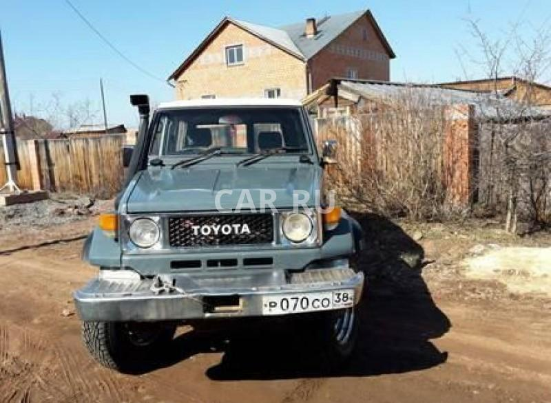 Toyota Land Cruiser, Братск