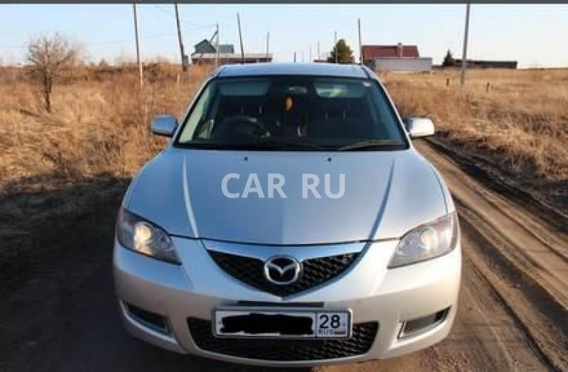 Mazda Axela, Белогорск