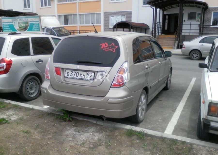 Suzuki Liana, Анапа
