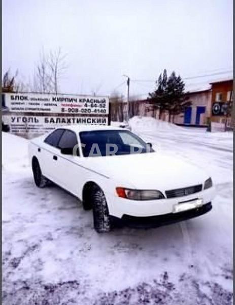 Toyota Mark II, Ачинск