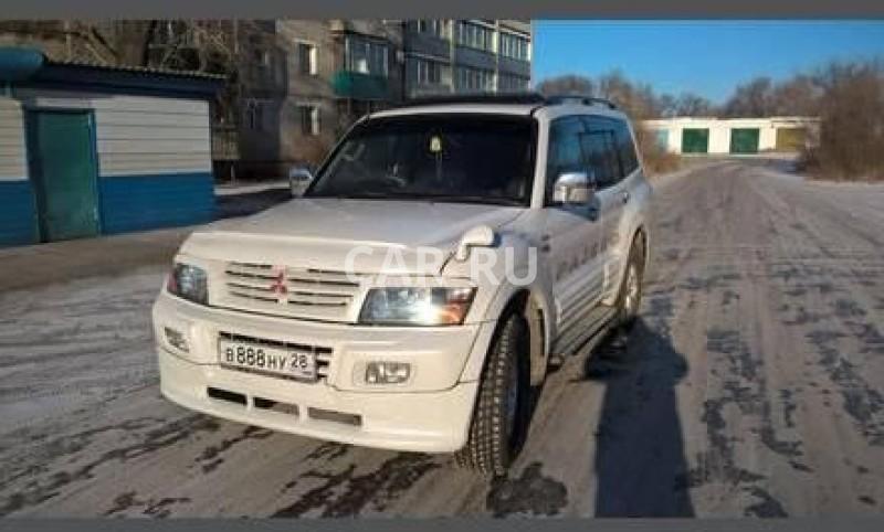 Mitsubishi Pajero, Белогорск