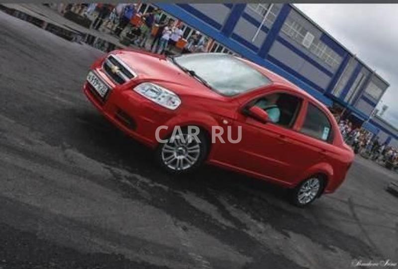 Chevrolet Aveo, Барнаул
