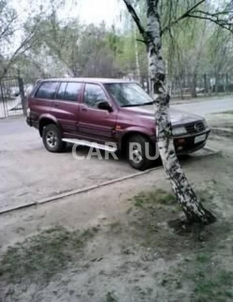 Ssang Yong Musso, Барнаул