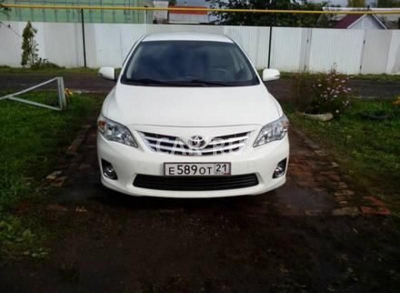 Toyota Corolla, Алатырь