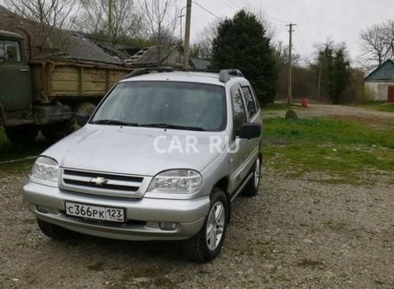 Chevrolet Niva, Архипо-Осиповка