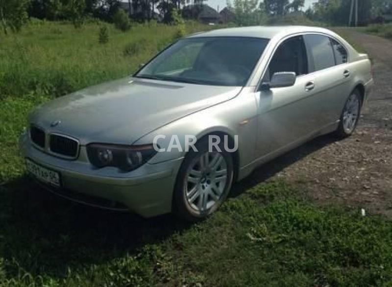BMW 7-series, Белово