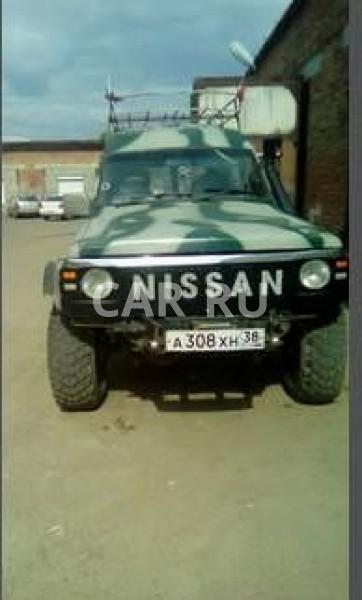 Nissan Safari, Ангарск