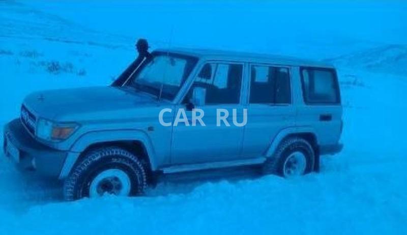 Toyota Land Cruiser, Анадырь