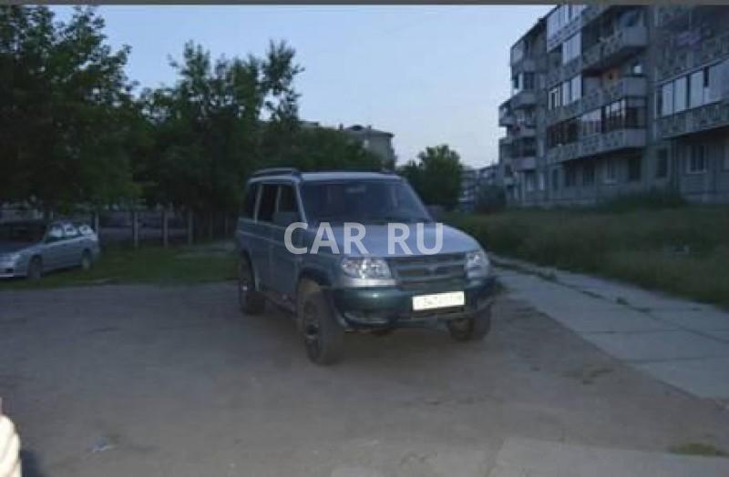 Уаз Patriot, Ангарск