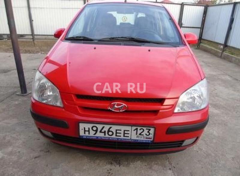 Hyundai Getz, Апшеронск