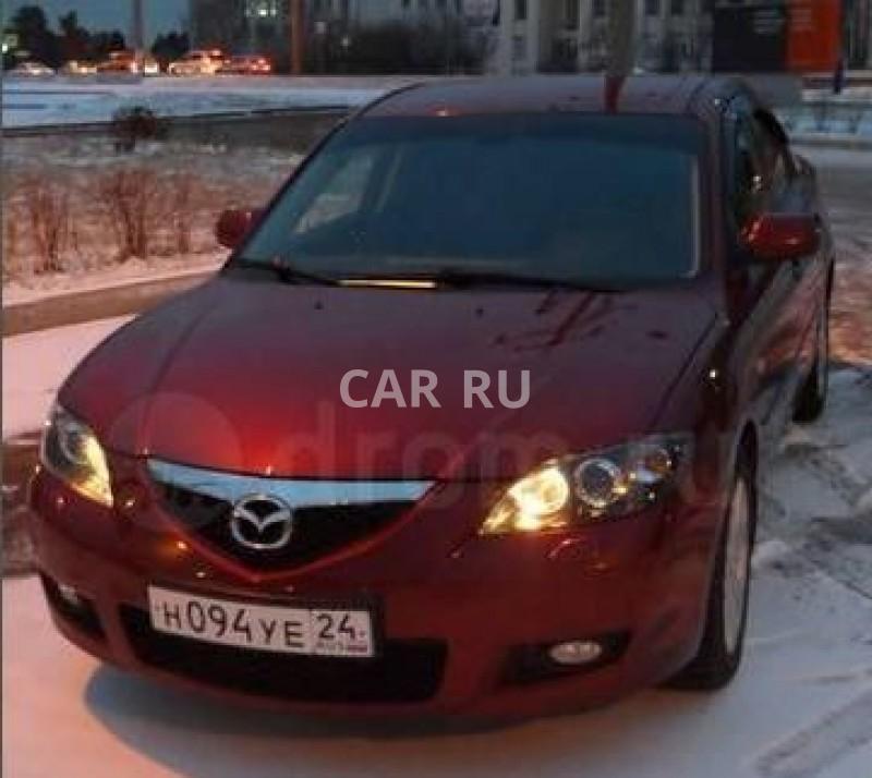 Mazda 3, Абакан