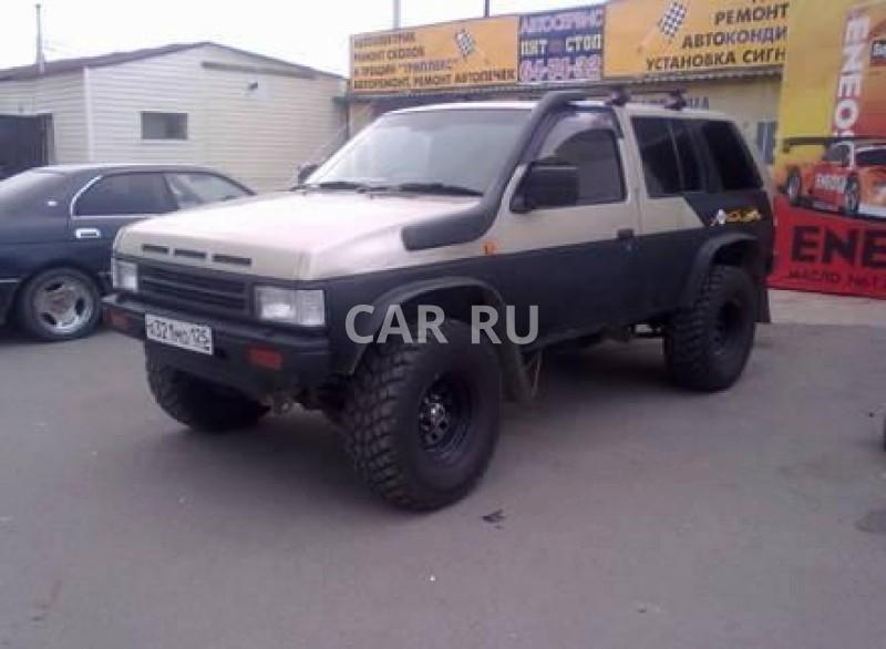 Nissan Terrano, Белогорск
