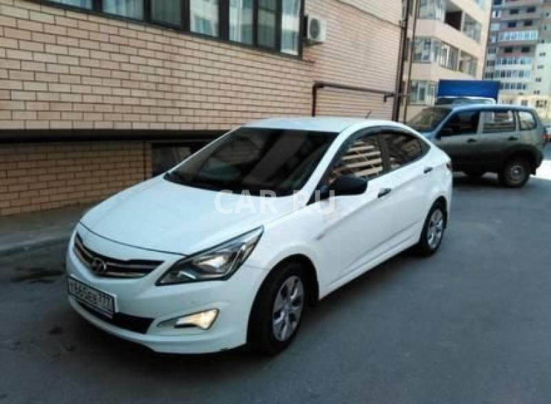 Hyundai Solaris, Анапа