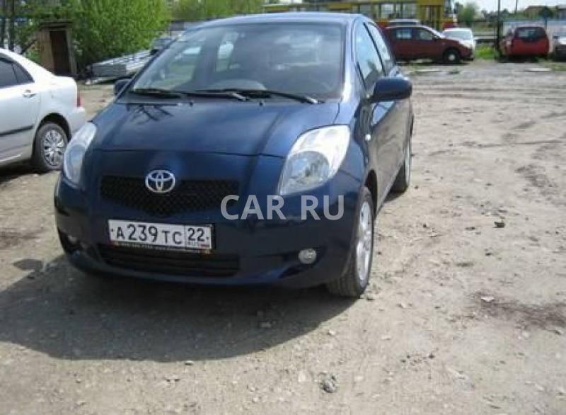Toyota Yaris, Барнаул
