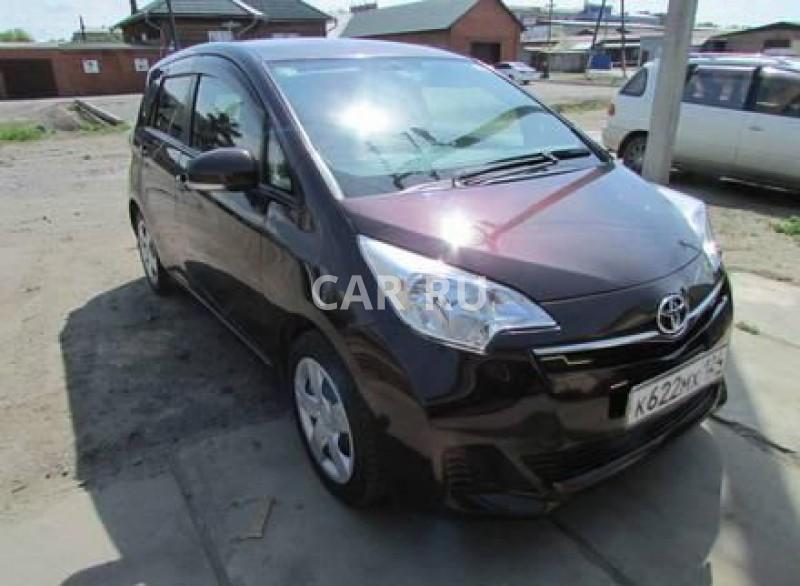 Toyota Ractis, Абакан