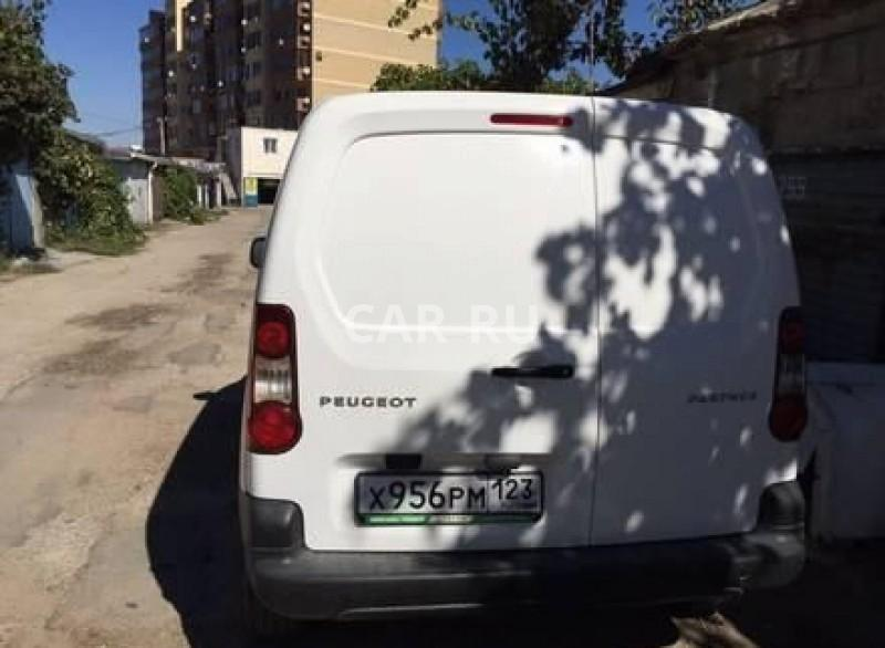 Peugeot Partner, Анапа