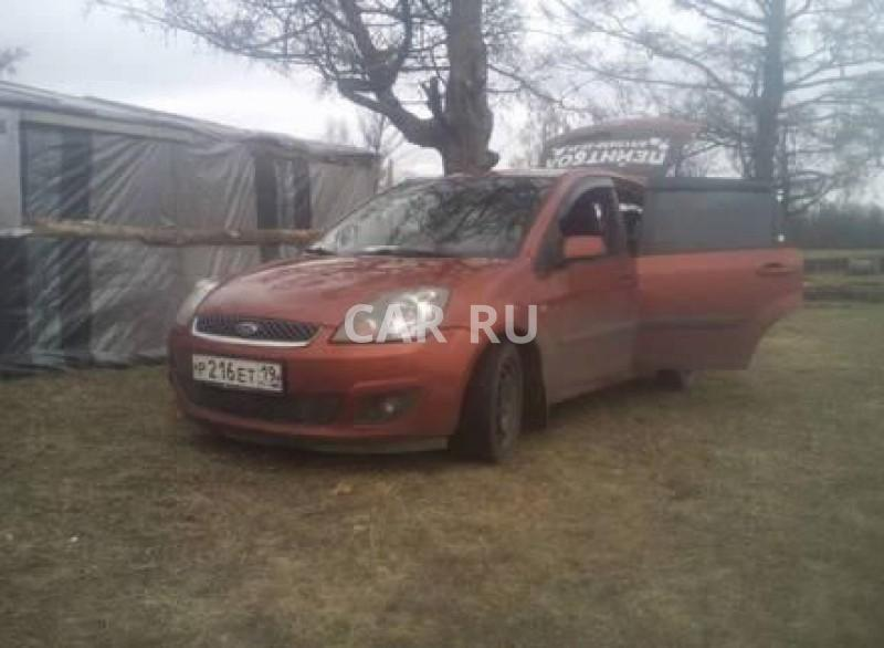 Ford Fiesta, Абакан