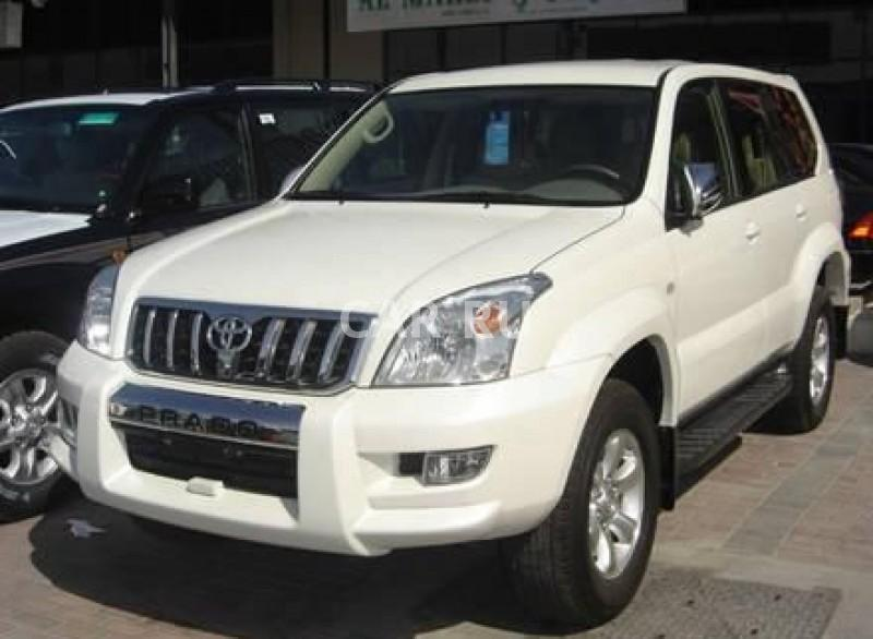 Toyota Land Cruiser Prado, Белогорск