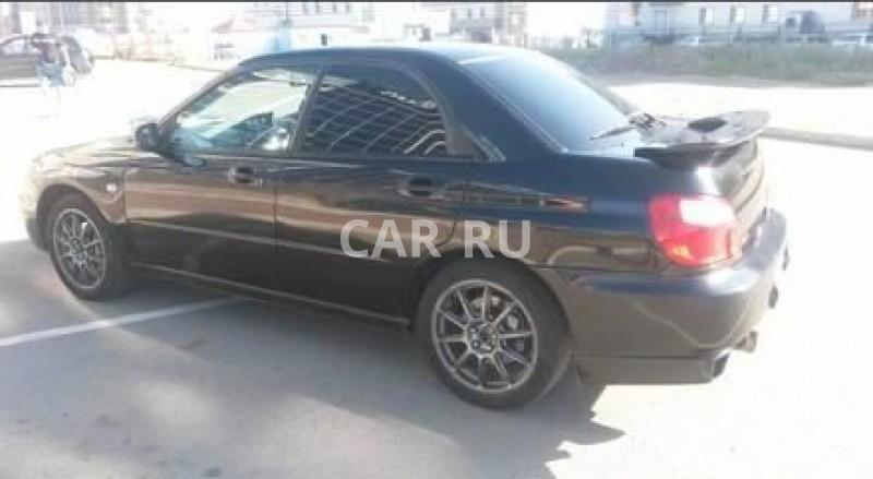 Subaru Impreza WRX, Абакан