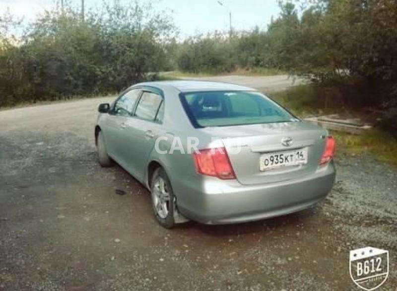 Toyota Corolla Axio, Айхал