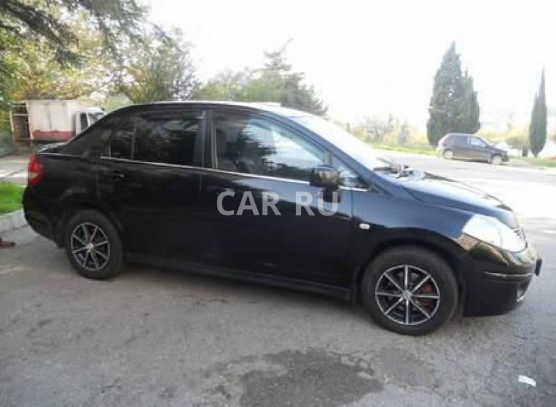 Nissan Tiida, Алушта