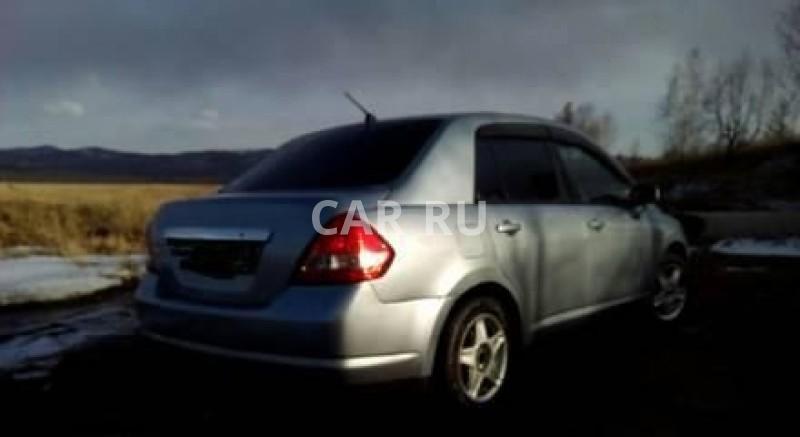 Nissan Tiida Latio, Абакан