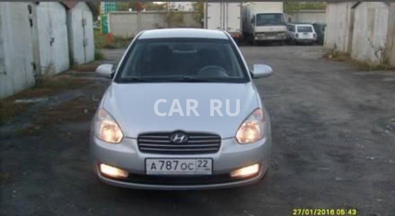 Hyundai Verna, Барнаул