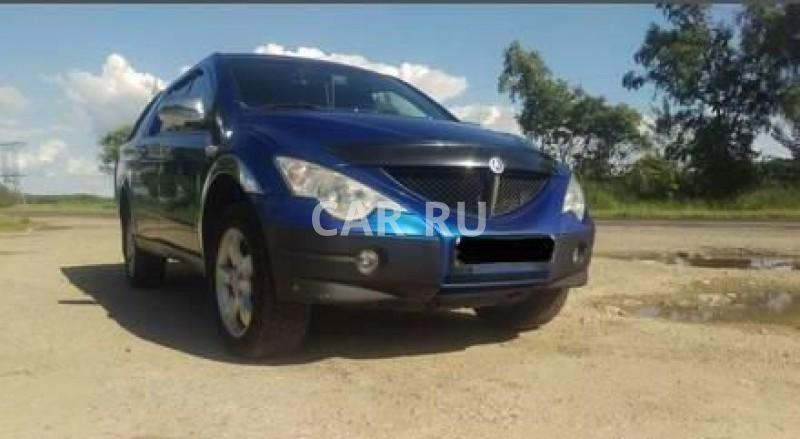 Ssang Yong Actyon Sports, Барабаш