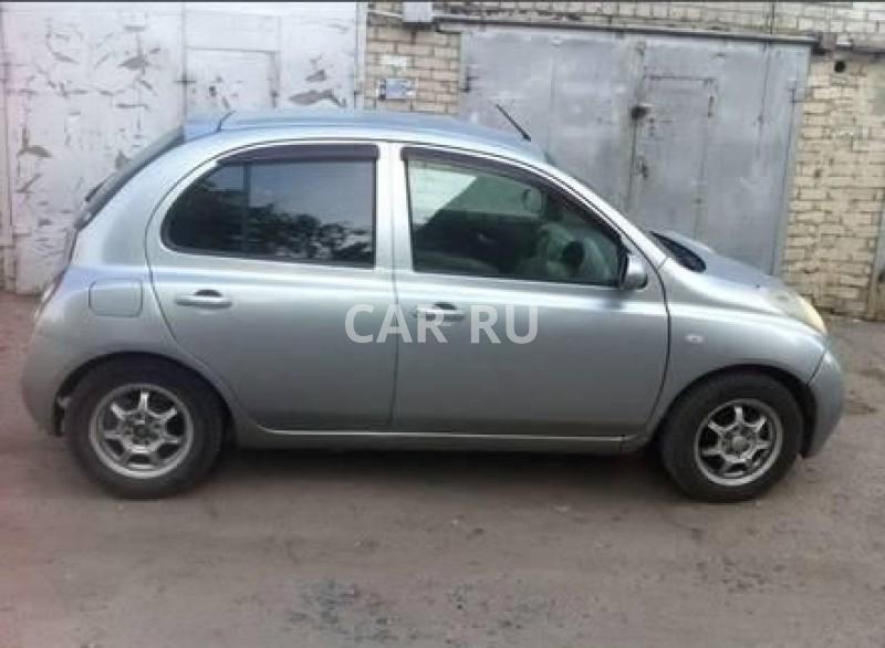 Nissan March, Барнаул
