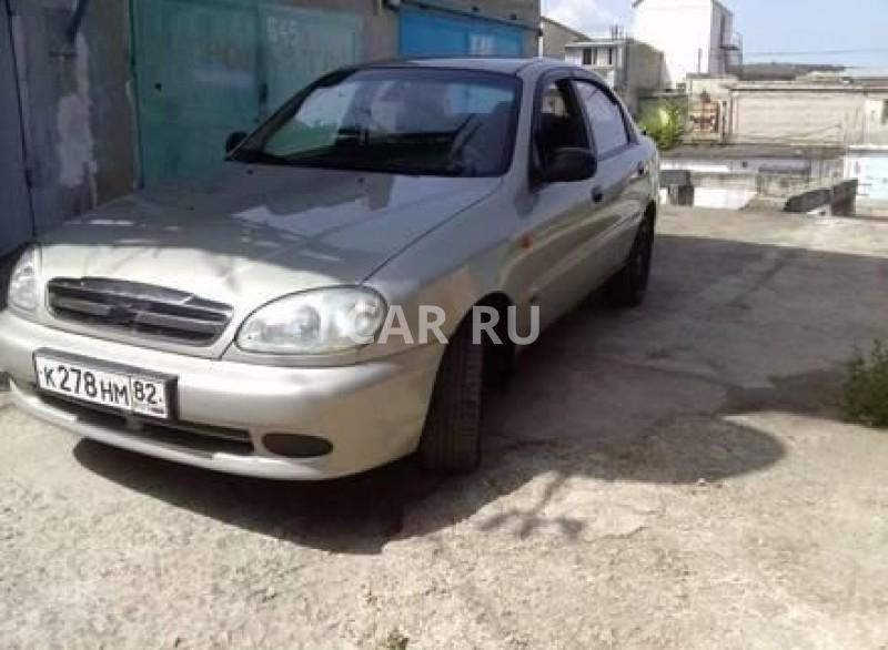 Chevrolet Lanos, Алушта