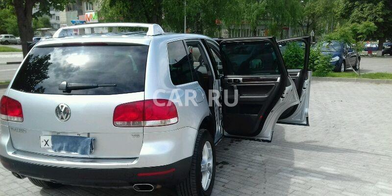 Volkswagen Touareg, Белгород