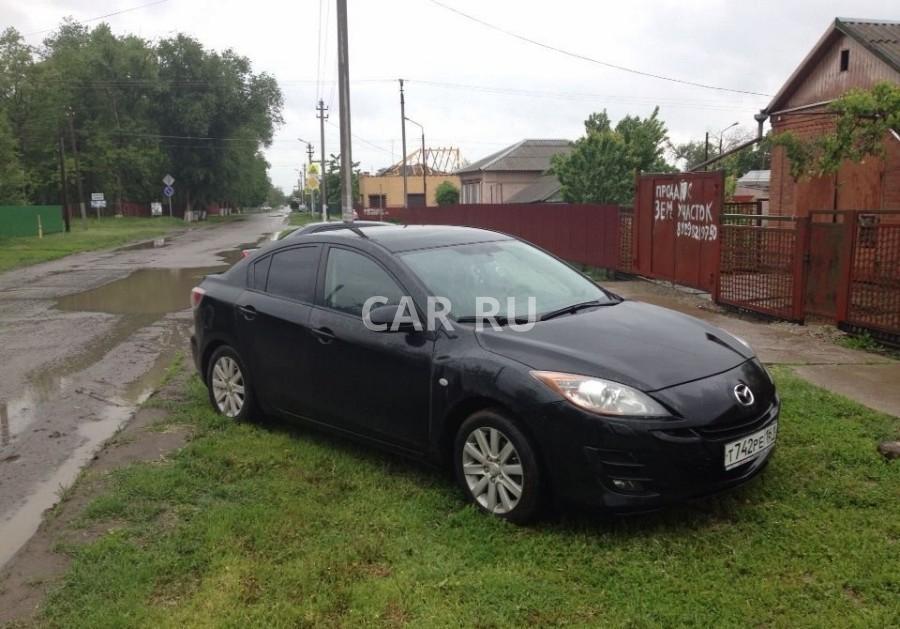 Mazda 3, Аксай