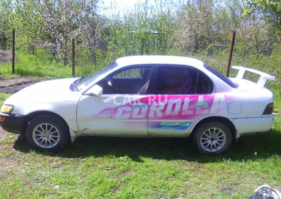 Toyota Corolla, Анапа