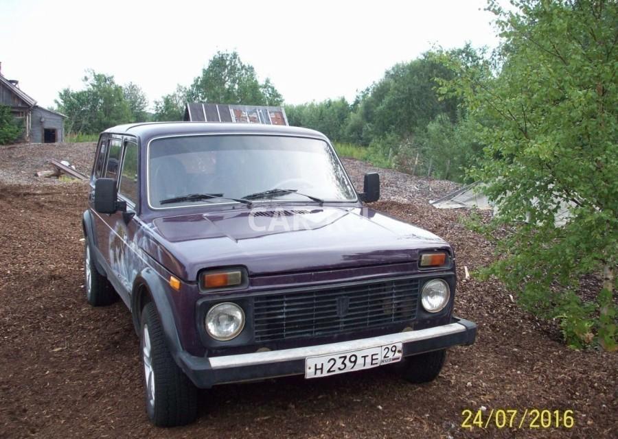 Лада 4x4, Архангельск