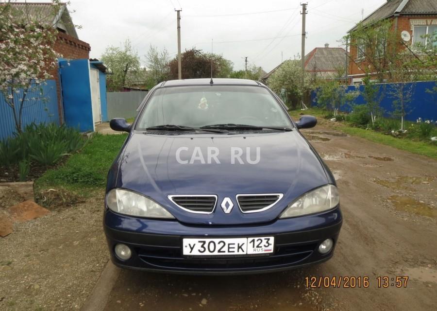 Renault Megane, Апшеронск