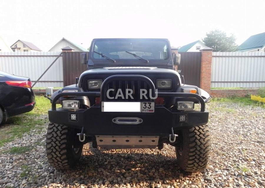 Jeep Wrangler, Александров