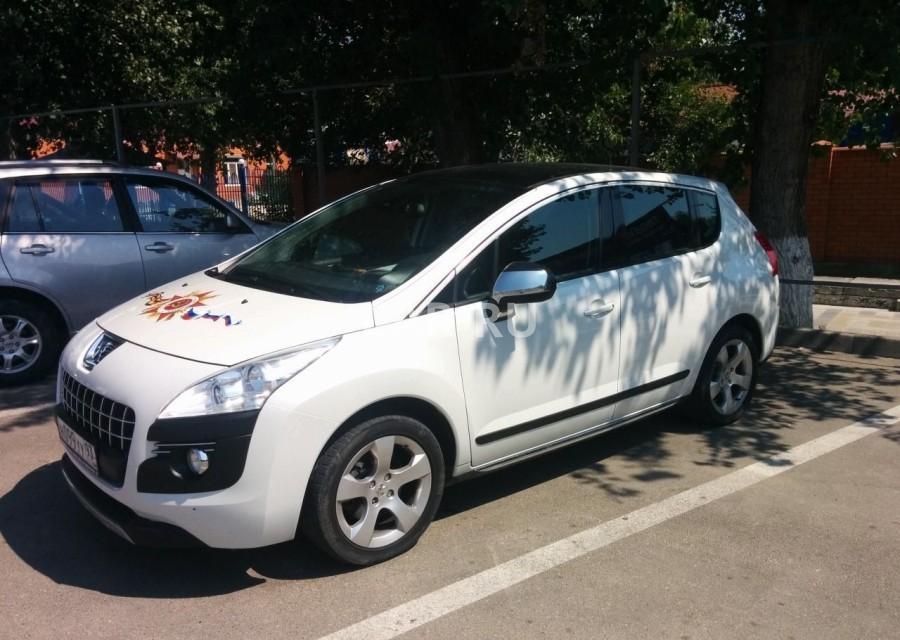 Peugeot 3008, Анапа