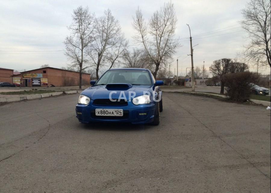 Subaru WRX, Абакан