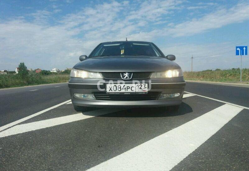 Peugeot 406, Анапа