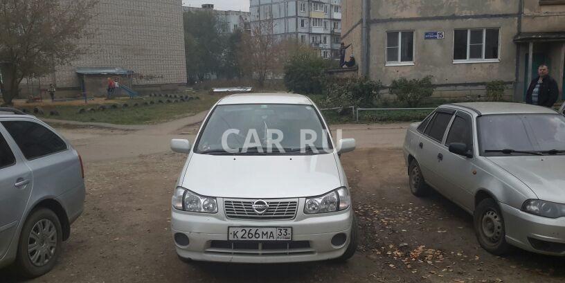 Nissan Liberty, Александров