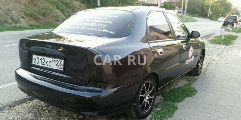 Chevrolet Lanos, Анапа